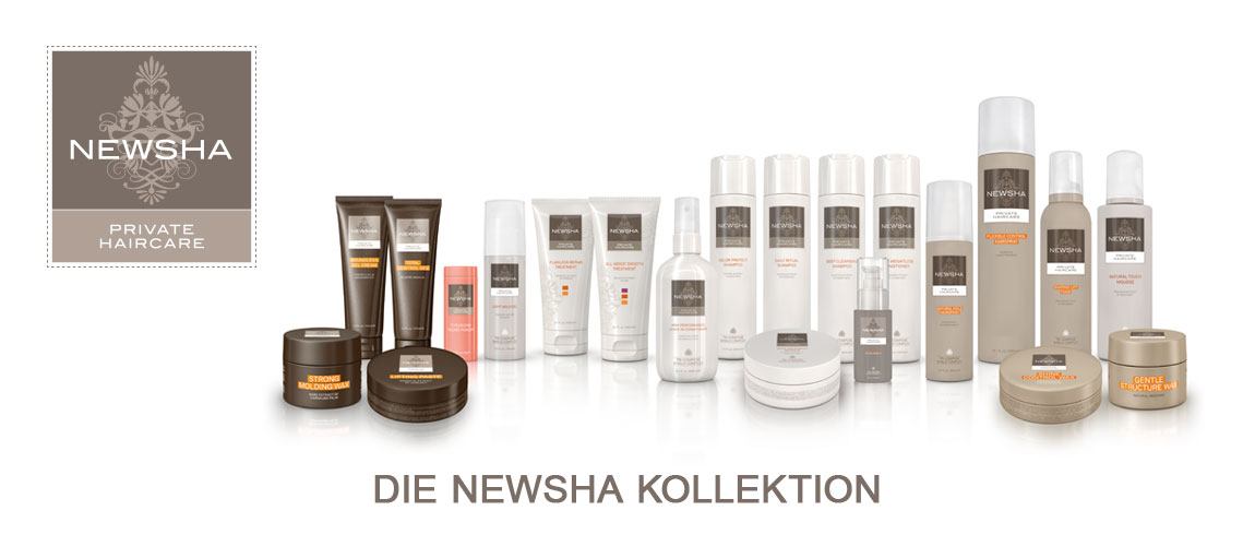 Produkte der Newsha Private Haircare Kollektion